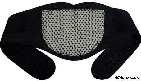 999.Лечебно-профилактическая повязка на шею с биофотонами турмалина